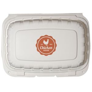 "6""x9"" Eco-Friendly Takeout Container - The 500 Line"