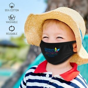 3-Ply Protective Cotton Mask - Kids