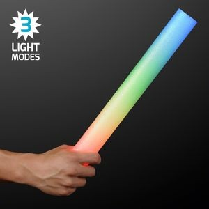 "16"" Multi Color LED Foam Cheer Stick"